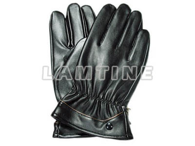 Vinyl Leather Winter Gloves Lamtine
